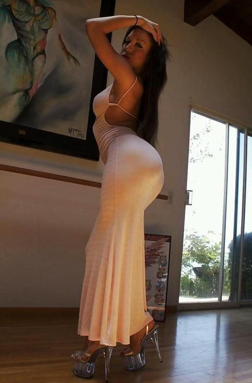tight ass in dress
